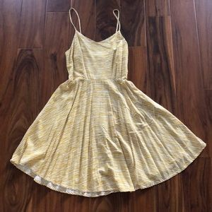 Old navy yellow cami dress size small